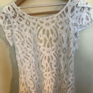 Pins And Needles Lace Top